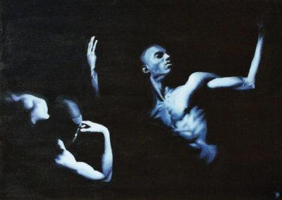 Blue Dancers II